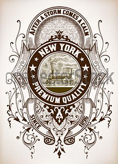 Retro design (oneVectorStock.com) Tags: old travel flowers wedding portrait floral illustration train vintage paper poster design pattern message graphic quality background label smoke tag grunge border transport banner decoration victorian certificate dirty retro ephemera celebration card cover engraving elements bow page frame letter shield ribbon aged ornate baroque insignia greeting vignette vector premium cracked packaginglabel