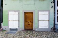 the face of an old house (Schub@) Tags: street urban house face germany deutschland gesicht haus freiburg tr breisgau badenwrttemberg fensterlden hauszurrotenschr