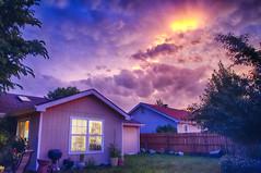 Bright Sky (Kansas Poetry (Patrick)) Tags: sunset kansas stormclouds lawrencekansas patrickemerson patricknancyforever