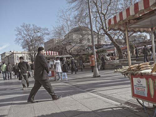 Post-oración. Istambul. Marzo 2011