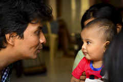 Ojas' First Shoot (mynameisharsha) Tags: family boy portrait baby india cute beautiful beauty loving kids children mom 50mm prime kid nikon pretty dad babies child father bangalore young mother adorable awww moment chubby plump tender catchlight 50mmf18af d7100 mynameisharsha