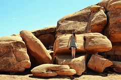 Monument Valley (Lou Morgan) Tags: arizona usa monument girl utah nation teen valley navajo teenage
