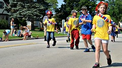 July 4 Parade (seanbirm) Tags: summer camp kids america illinois july parade fourthofjuly july4th dorchester cookcounty rahrah firstresponders westchesteril