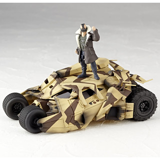 海洋堂 特攝 REVOLTECH No.047 Batmobile Tumbler Cannon