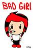 B-Pop Bad Girl Poster She Smokes SPWK Badgirl Red Hair Punk Japan SD (jessefellows533) Tags: china anime art college rock japan poster japanese rebel asia punk comic dorm cartoon chinese popart comicbook animation popculture hairstyle rasta japanimation punks clubhouse dormroom haircolor cartooncharacter rebels punkhair rastafari punkkid superdeformed punkgirl japanart jrc superfriend rainbowfun allgirlband comiccharacter collegeart collegeposter punkbaby chinabook sherocks japankid actionscene chinesecomic dormposter comicgirl dormart spwk cartoonkids collegeshirt japancharacter collegelogo alisonparker comickid japancomic supapeweekids juniorwritersclub juniorritersclub superpeweekids superpeeweekids skimaskkid supapeweekidsposter chudog superdeformedkid chinacomic juniorkid punkfreek redmaskkid skimaskkids alisonroom japancartooncharacter rebelkid