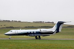 Private Gulfstream G450 M-NELS (IOM Aviation Photography) Tags: new man private delivery isle gulfstream g450 2013 mnels