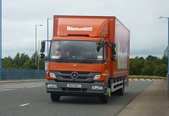 DA13 MZJ (Cammies Transport Photography) Tags: truck mercedes benz lorry flyover bakeries atego warburtons eurocentral da13mzj