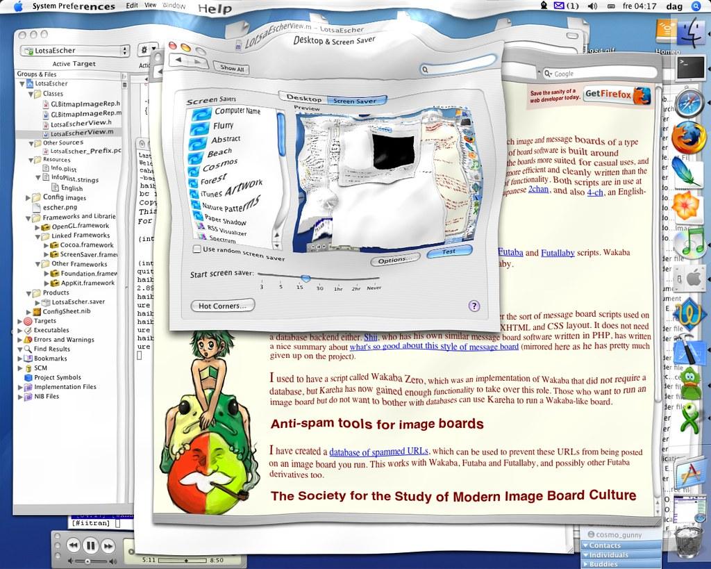 screensavers para Mac OS X