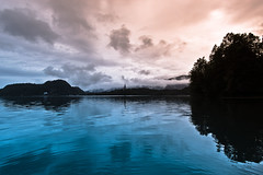 Bled Beauty (Daniel Bissill Photography) Tags: sunset lake reflection landscape slovenia waters ripples lakebled efs1022mm canon600d