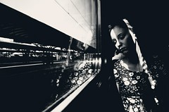 (fancy flight) Tags: light portrait sun window girl face rain composition contrast dark moscow perspective compo silence fancyflight