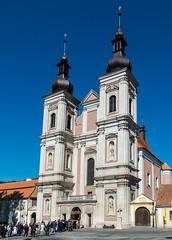 The church is popular again (The Adventurous Eye) Tags: church marie large kostel monumental panny lomnice navštívení
