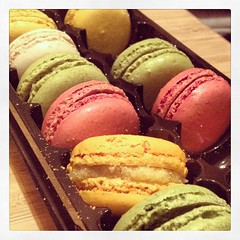 Could you have just one? #macaroon (ashlibean) Tags: one you have just macaroon could