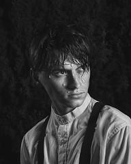 (brianoldham) Tags: light boy portrait blackandwhite wet water drop droplet waterdroplet alexstoddard brianoldham