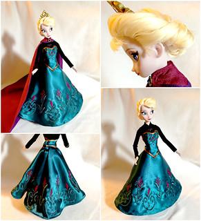 Elsa Coronation Dress!