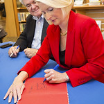 """<b>Callista Gingrich Book Signing_100513_0011</b><br/> Photo by Zachary S. Stottler Luther College '15<a href=""""http://farm6.static.flickr.com/5485/10181001824_11c8357958_o.jpg"""" title=""""High res"""">∝</a>"""