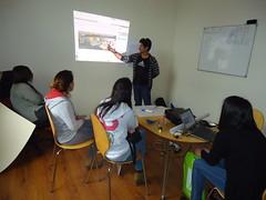 Diseño participativo de espacio a intervenir con Voluntarios UNAP