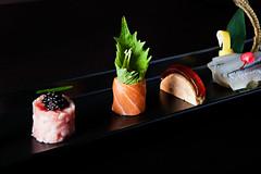 image11 (yearoftherat1972) Tags: sushi japanese sashimi uni knives ayu ginko greenteatiramisu sayori chocolateplant usuzukuri hcocolate tomohironaito tomobuckhead tomojapaneserestautant