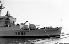 D563 San Marco Trieste-1965 (4) (Paolo Bonassin) Tags: italy san marinamilitare destroyer marco 1961 trieste warships d563 ©paolobonassin