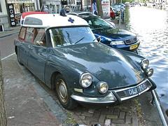 1967 CITRON ID19 Break Familiale (ClassicsOnTheStreet) Tags: classic station amsterdam vintage wagon design 60s classiccar break estate id ds citron ambulance 1967
