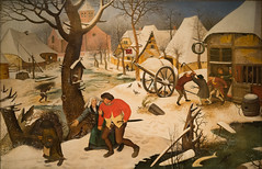 """""""Return from the Inn"""" by Pieter Bruegel the Younger (mark6mauno) Tags: museum nikon montreal fine arts nikkor d4 montrealmuseumoffinearts nikond4 2470mmf28g"""
