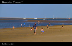 Remember Summer (Paul Simpson Photography) Tags: uk england water seaside sand lincolnshire northsea eastcoast humberside photosof beachphotography photoof fitties humberston imagesof august2013 lumixtz30 paulsimpsonphotography thebeasch