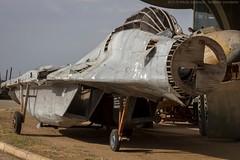 Mig-29 mockup decoy (Nikola J.) Tags: plane model serbia jet vj 1999 trick bombing yugoslavia nato mig decoy mikoyan mig29 yugoslavairforce serbianairforce