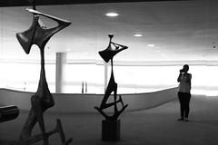 ? (sandnfoam) Tags: blackandwhite bw sculpture art braslia brasil palciodoplanalto almostaselfportrait sooc canoneosrebelt1i