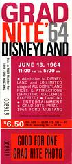 Grad Nite 1964 01 - cover (Tom Simpson) Tags: vintage 60s disneyland disney 1960s 1964 gradnite vintagedisneyland vintagedisney