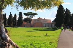 green (bob_52) Tags: parco roma verde alberi san strada prato edifici tarcisio