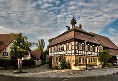 Dahenfelder Ansichten 2013 (G.Hoelzel) Tags: rathaus fachwerk altesrathaus dahenfeld dorfidylle schauberg dahenfelderansichten