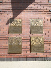 "Plaques at AT&T Park • <a style=""font-size:0.8em;"" href=""http://www.flickr.com/photos/109120354@N07/11042731826/"" target=""_blank"">View on Flickr</a>"