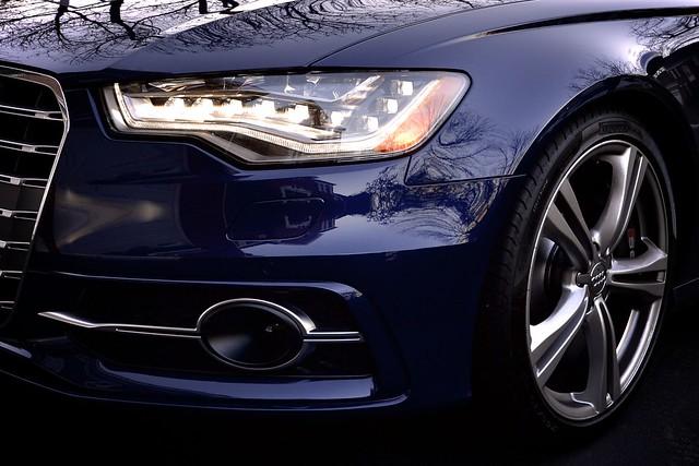 blue automobile technology outdoor headlights front led estoril 2014 audis6 nikond600 1635mmf4gvr