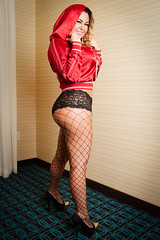 Heather Vesley (The Estrada Experience) Tags: hot sexy panties dark hoodie canon20d lingerie estrada jacket experience heels fishnets after the voluptuous pawg wooty