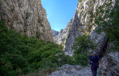 Paklenica National Park (pbr42) Tags: people mountain nature nationalpark croatia canyon valley hdr winnetou paklenica paklenicanationalpark nacionalniparkpaklenica