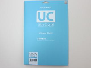 Spigen SGP Ultra Crystal Screen Protector for iPad Air