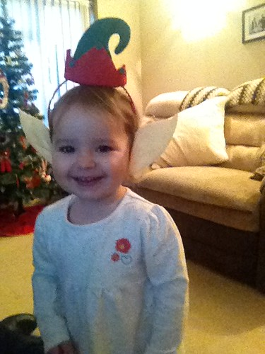 For Stuart HMS Westminster - Merry Christmas Daddy, from your little Christmas elf xxx