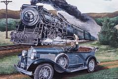 Roosevelt (jwcjr) Tags: mural barnesvillega trainmural barnesvillegeorgia muralbarnesville rooseveltmural