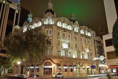 Gran Hotel_AB (Fran PS) Tags: espaa night navidad spain arquitectura nikon nocturna albacete castillalamancha d600 granhotel altozano