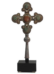 Processional cross (MachadoStudios) Tags: byzantine silvercross processionalcross goldcross