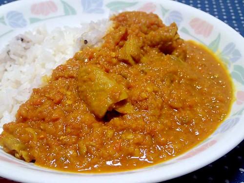 鶏野菜カレー