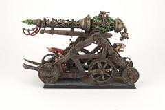 Skaven Warp Lightning Cannon (revolution8) Tags: warp fantasy cannon warhammer lightning skaven whfb