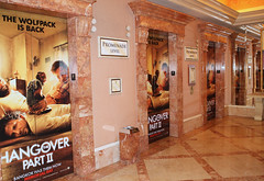 Entertainment, Hangover Part II for CinemaCon at Caesars Palace, Elevator Graphics