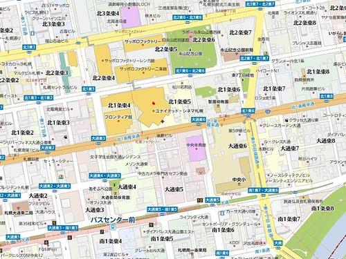 バスセンター前駅周辺
