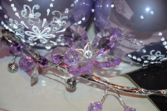 Garland Flowers Glass (MissLilieDolly) Tags: santa christmas flowers light en tree glass fleurs ball de bright suspension decoration garland collection figure fir hanging characters claus dolly figurine nol miss lilie dcoration guirlande sapin boule verre pre personnage lumineuse missliliedolly