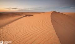 Kuwait - Alsami - Desert Dune And Ripples At Sunset (Sarah Al-Sayegh Photography | www.salsayegh.com) Tags: desert kuwait الصحراء landscapephotography الكويت الغروب stateofkuwait كانون leefilters الرمال canon5dmark3 wwwsalsayeghcom sarahhalsayeghphotography infosalsayeghcom