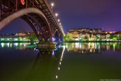 Evening light (Miroslav Petrasko (hdrshooter.com)) Tags: old bridge photography lights evening slovenia hdr maribor reflextion miroslav slovinsko hdrshooter petrasko