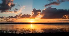 Golden Horizon (R J Warrender Photography) Tags: blue sunset sky water clouds point golden glow mangrove wellington queensland