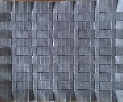 Gray Weave 1 (Tom Crain Origami) Tags: origami tessellations origamitessellations