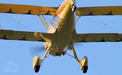 WACO YMF-F5C N45BN Lee on Solent Airfield 2014 (SupaSmokey) Tags: waco lee solent airfield 2014 ymff5c n45bn