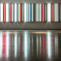 Robert Irwin Miracle Mile (ken mccown) Tags: art losangeles fluorescent lacma miraclemile lightart robertirwin